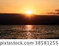 風景 日落 海 38581255
