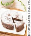 巧克力蛋糕 蛋糕 甜食 38582365