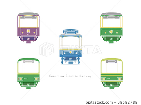 enoden, electric train, train 38582788