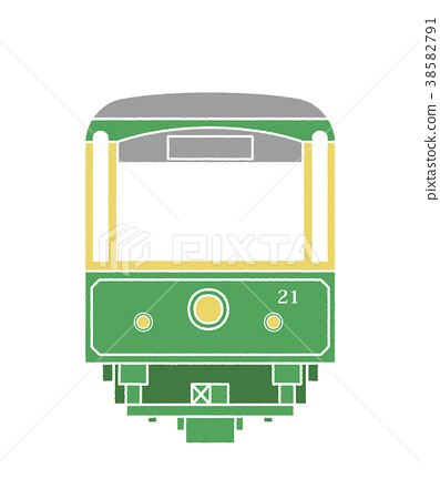 enoden, electric train, train 38582791