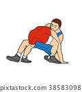 摔跤 運動 男人 38583098