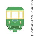 江之岛 火车 电气列车 38583196