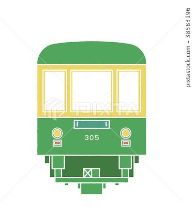 enoden, electric train, train 38583196