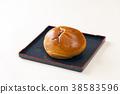 红豆饼 面包 食物 38583596