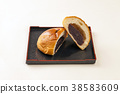 红豆饼 面包 食物 38583609