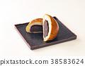 红豆饼 面包 食物 38583624
