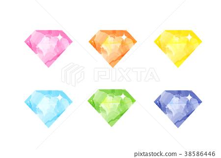 火車時間表 鑽石 珠寶首飾 38586446