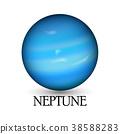 Planet neptune 38588283