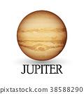 Planet jupiter 38588290