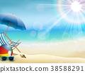 holiday, summer, beach 38588291