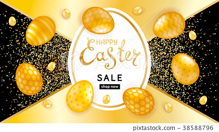 Happy easter collection 38588796
