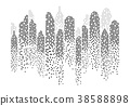 Modern City skyline . city silhouette 38588898