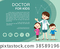 Doctor and kids background poster landscape 38589196