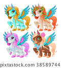 Baby pegasus for freedom and magic 38589744