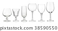 Empty glass 38590550