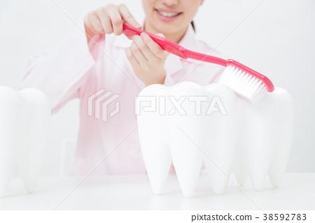 牙科 牙医 牙膏 38592783