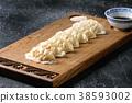 Gyozas potstickers asian dumplings 38593002