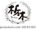 tochigi, maple, calligraphy writing 38593385