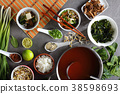 japanese miso soup in a bowl 38598693