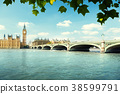 Big Ben and Houses of Parliament, London, UK 38599791