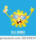 funky, logo, summer 38599839