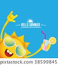 funky, logo, summer 38599845