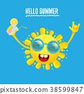 funky, logo, summer 38599847