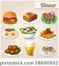 food icon vector 38600602