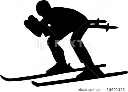 Ski Downhill 38601396
