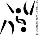 judo icon logo 38601545