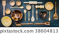 Kitchen utensils 38604813