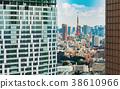 View of Tokyo Tower in Minato Tokyo, Japan 38610966