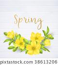 invitation, wedding, flower 38613206