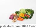 蔬菜集合 38613547