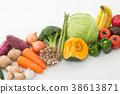 蔬菜集合 38613871