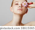 Body care and skin care. Sexy beauty girl 38615065