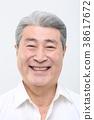얼굴, 노년, 남자 38617672
