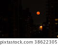 Red moon in NYC 38622305