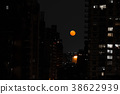 Red moon in NYC 38622939