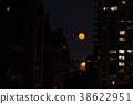 Red moon in NYC 38622951