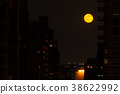 Red moon in NYC 38622992
