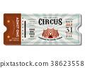 Vintage Circus Ticket 38623558