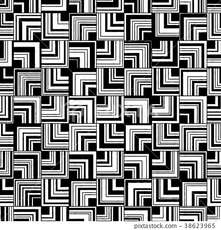 Seamless abstract pattern of square angle. 38623965
