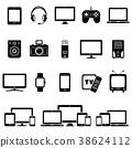 icon device digital 38624112