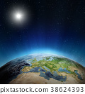 planet, europe, sun 38624393