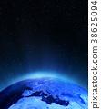 Europe city lights 3d rendering 38625094