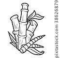 Coloring book, Bamboo 38626879