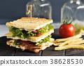 sandwich bacon tomato 38628530