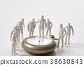 微型 洋娃娃 鐘錶 38630843