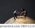 地球和微型娃娃工人 38631216